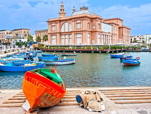 Hotels in Bari from € 53,00
